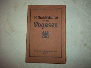 Mappe Vogesen 20 Ansichtskarten-Colmar Postkarten