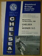 1965/66 città tra FIERE Cup CHELSEA V. Wiener S.C 1 dicembre, 1965