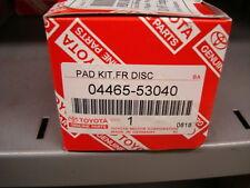 Original Lexus Pastillas de Freno Frontales IS250,IS220D &IS300H 04465-53040