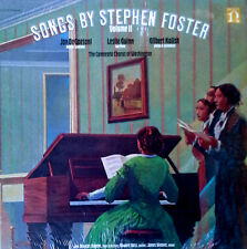 SONGS BY STEPHEN FOSTER - VOLUME II - NONESUCH LP - VARIOUS ARTISTS