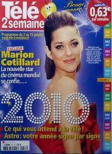 Mag 2010: MARION COTILLARD_JULIEN COURBET_FLAVIE FLAMENT_DANIEL RUSSO
