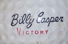 1962 BILLY CASPER VICTORY #4 SIGNATURE LOGO GOLF BALL