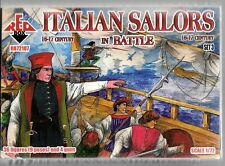 Red Box 16 and 17th Cent. Italian Sailors in Battle Set 3 Figures in 1/72 107 ST