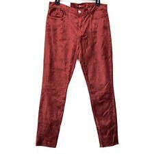 7 For All Mankind velvet ankle skinny jeans 31 NEW