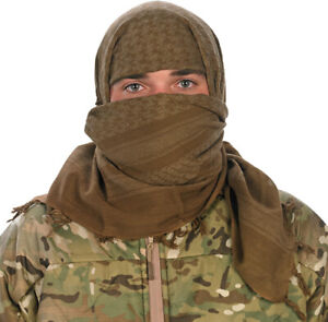 Camcon Shemagh Desert Headwear Eye Protection Cotton Coyote Scarf 61034