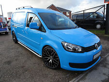 2011 VW CADDY MAXI CREW CAB 1.6 TDI 140HP WOLFSBURG EDITION VAN IN BLUE -5 SEATS