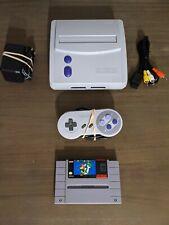 Near Mint Super Nintendo Jr System Bundle SNES Jr With Super Mario World New Pin