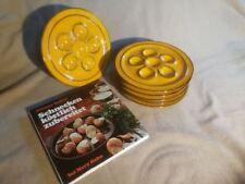6 x THOMAS Scandic Gelb Schneckenteller Teller Speiseteller Schneckenplatte