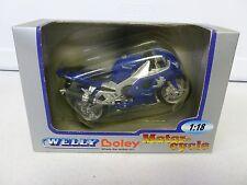 Welly Boley Yamaha Motorcycle 1:18