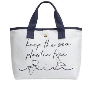 Radley Heavyweight Keep The Sea Plastic Free Bag Heavyweight Canvas New Tote