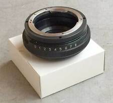 TILT 8° adapter Nikon lens - for Sony Alpha E-mount NEX-3 NEX-5 NEX-7 camera NEW