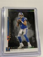 2020 Impeccable Football Matthew Stafford Base Gold 1/10 ONLY 10 EVER MADE!