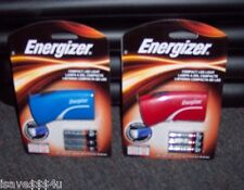 2 NEW ENERGIZER COMPACT LED LIGHTS  GREAT FOR TRAVEL BRIGHT WHITE LED FLASHLIGHT
