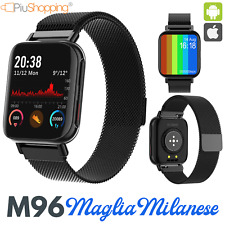 M96 SMARTWATCH OROLOGIO SPORT ANDROID IOS CARDIOFREQUENZIMETRO FITNESS TRACKER