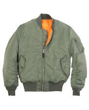 Alpha Industries MA-1 Flight Jacket, Sage Green, Small