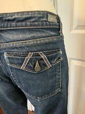 """Paige Anthropologie Dark Wash """"Fairfax"""" Bootcut Blue Jeans, Size 31"""