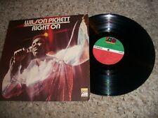 Wilson Pickett LP-Right On-1970-Atlantic-EX