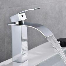 Moderne Mitigeur d'évier Salle de bain Lavabo Bec cascade Support de robinet