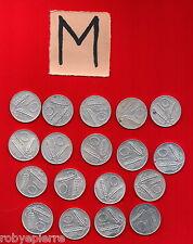 10 lire 18 monete 1951 52 53 54 2x 1955 56 72 74 2x 1975 76 77 78 79 80 81 1982