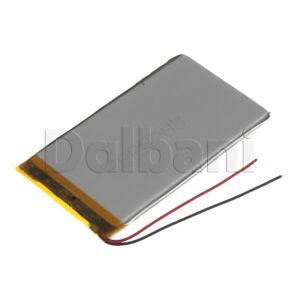 New 3.7V 2000mAh Internal Li-ion Polymer Built-in Battery 100x55x4mm 29-16-0914
