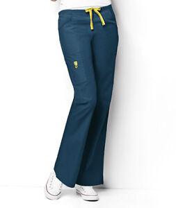 Wonder Wink Romeo Flare Leg Nurses PETITE Scrub Pants Style 5026 Wonder Wink NEW