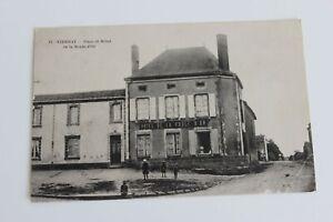 CPA Yzernay Rathaus Kugel Gold- Maine Und Loire 49360 Anfang 20. Jahrhundert