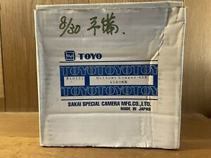 Unused in Box Toyo View Bellows Longer 45R for 45G GII C D45M From Japan