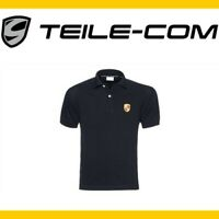 Original Porsche Wappen Herren Polo Shirt Größe M 48 50 schwarz 911 993 996 997