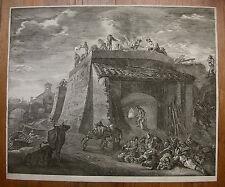 CORNELIS VISSCHER `DER GROSSE KALKOFEN; THE LARGE LIME-KILN` H. 61 I ; ~1655