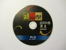 All About Eve (Blu-ray, 1950, Vintage) No Case, Read Description Section