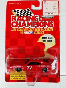 Bobby Isaac #71 1969 DODGE SUPERBIRD 1/64 RACING CHAMPIONS 1997 DIECAST NASCAR
