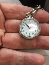 Vintage Hamilton Pendant/Pocket Watch-Small,In Sterling Silver No Reserve