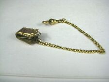 Pending Clip 5.5 inches Long Goldtone Watch Chain Link 3mm Patent