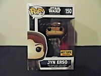 Funko POP Hooded Jyn Erso Star Wars Rogue One Hot Topic Exclusive