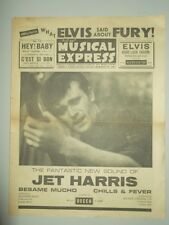 NME #801 MAY 18 1962 ELVIS DEAN MARTIN BRUCE CHANNEL CLIFF RICHARD JET HARRIS