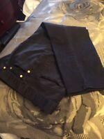 New York & Company Women's  Jean Type Pants size 4 black,  cotton, spandex