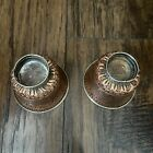 Vintage Old Copper & Alloy Chinese Or Tibetan ? Pair Of Cup 220 Grams