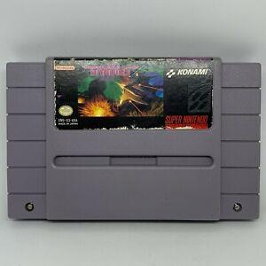 Gradius III (Super Nintendo Entertainment System, 1991)