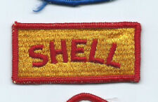 Shell Oil Co driver/employee patch 1-3/8 X 3 #2133