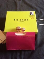 Ted Baker Purple Julissa  Patent Leather Purse RRP £70 BNWT