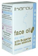 IKAROV Bulgarian Rose Absolut Face Oil - 30ml Anti-Aging for dry skin NATURAL