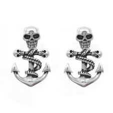 Octopus Skulls Anchor Earrings Stainless Steel Jewelry By Controse
