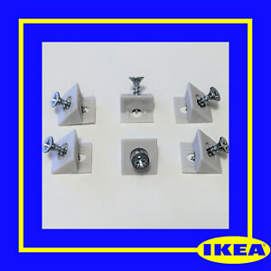 110678 x 6 IKEA KULLEN Trysil Drawer Base Support Pins Replacement Spares Parts