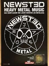 NEWSTED – METALLICA 2017 ALBUM + orig.Concert Poster - Konzert Plakat A1 xx