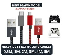 4m USB Micro Android Charging Charger Cable XBOX ONE Controller Lead