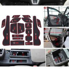 For Honda CRV 2012-2013 Car Rubber Non-slip Mat Interior Cup Pad Door Groove Mat