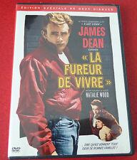 DVD Movie 2 Disc Set - James Dean La Fureur de Vivre ! 1955 Original Version