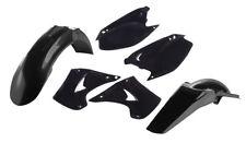 Acerbis Plastic Kit - BLACK - Kawasaki KX125 & KX250 2003-2007 _2041100001