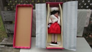 Marie Osmond Doll Winter Splendor Holiday Four Seasons / EXCELLENT CONDITION