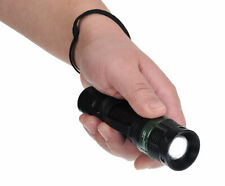 Portwest PA54 8 Hour Compact Tactical Flashlight with Belt Clip & Wrist Strap